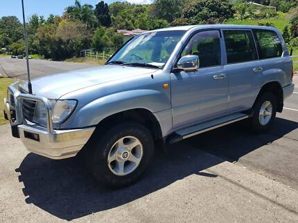 2002 Toyota Landcruiser  GXL 105  Advantage Pacific Paradise Maroochydore Area Preview