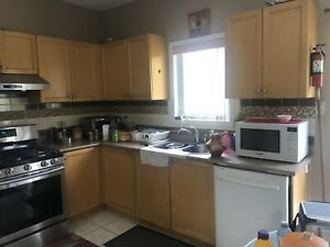 Excellent condition kitchen cabinets still using
