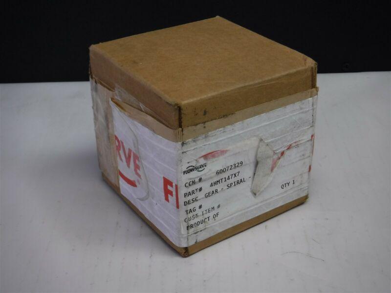NEW IN Box FLowserve INGERSOLL DRESSER PUMPS WORM DRIVER GEAR 4HMT147X7 F4-3