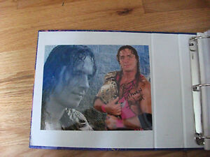 BRET-HITMAN-HART-WWE-WWF-AUTOGRAPHED-8-X-10-PHOTO-5