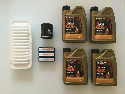 CITROEN C1 PEUGEOT 107 TOYOTA AYGO 1.0 PETROL ENGINE SERVICE KIT INCLUDES OIL