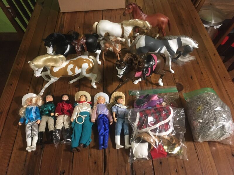 Reeves Breyer Custom Ponies Mane Tail Lot