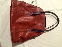 Spencer & Rutherford limited addition leather bag O'Connor North Canberra Preview