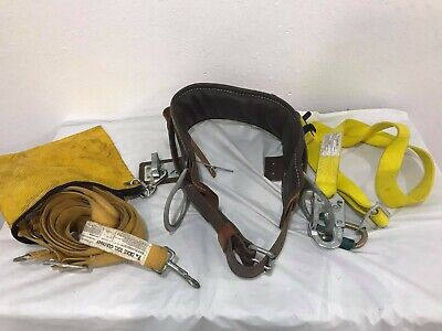 Buckingham Ring Lineman Pole Climbing Body Belt - Size26 Usa.w4812ydicke 1201