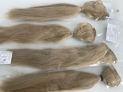 European human blonde hair extensions