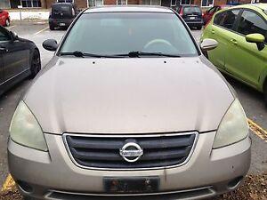 2004 Nissan Ultima 2.5l