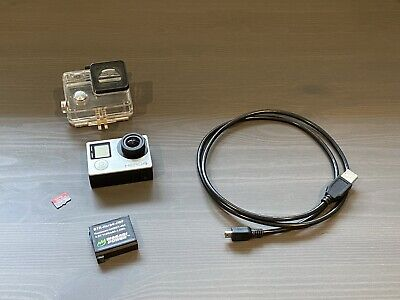 GoPro HERO 4 Silver Edition With LCD Screen with 128GB SD Card