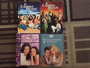 DVDs and tv series