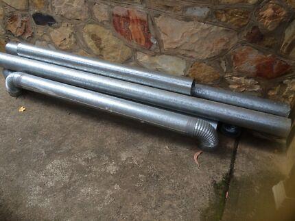 Galvanized 5 Pipe Or Downpipe
