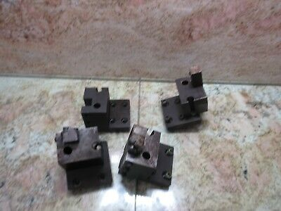 Daewoo Puma 10 Cnc Lathe Turret Tool Holding Holder Block Tooling 3x4 Each
