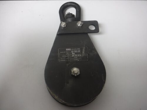 Grainger Style Swivel Pulley Rated Load 4000LB Proof Load 12000LB