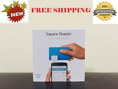 New Square Mobile Magstripe Credit Card Reader For Apple Iphone Android - Nib
