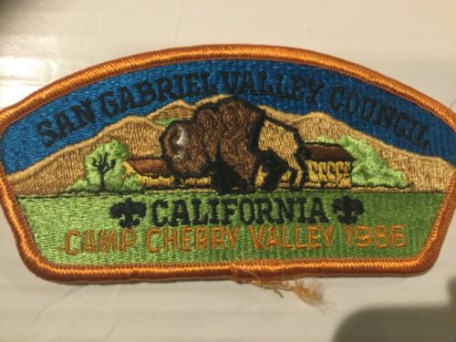 San Gabriel Valley Council CSP SA-17 Camp Cherry Valley 1986 SALE!!