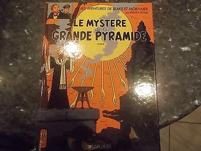 belle reedition blake et mortimer le mystere de la grande pyramide tome 2