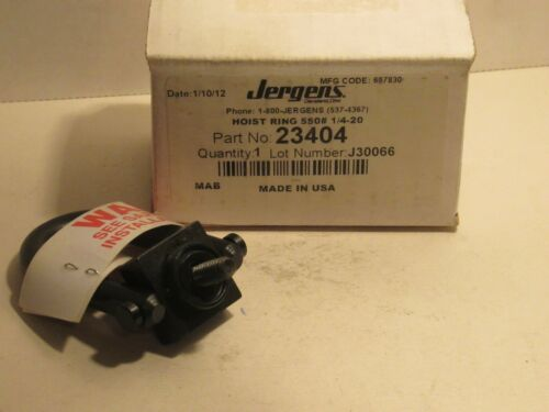 NEW JERGENS 23404 J30066 U-BAR HOIST RING