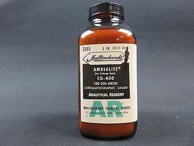 Amberlite Cg-400 100-200 Mesh Chromatographic Grade 1 Pound Mallinckrodt 3345
