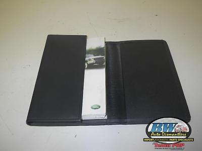 LAND ROVER DISCOVERY Owners Manual 2003