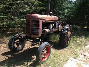 1947 farmall model a tractor good working condition