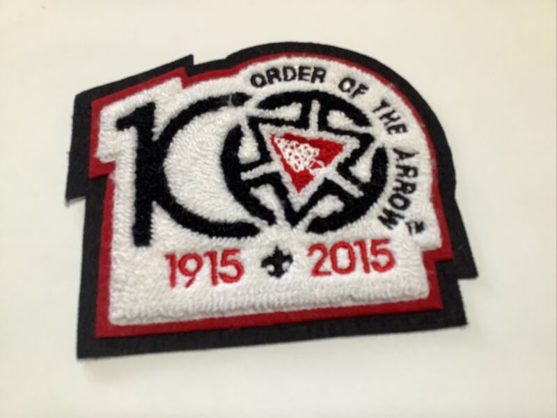 OA 2015 Chenille 100th Anniversary of the Order of the Arrow