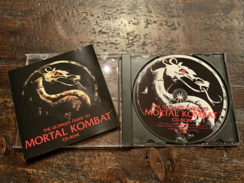 RARE - The Ultimate Guide to MORTAL KOMBAT CD-ROM (1995)
