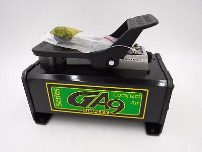 Ga90 Simplex Air Hydraulic Compact Foot Pump 10000 Psi Single-acting