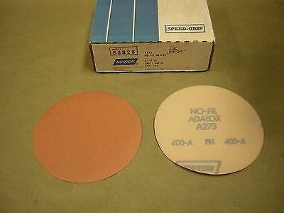 Norton 80 Grit 6 Sanding Disc 86 Sheet Box Adalox Dry Back