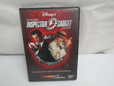 DISNEY'S INSPECTOR GADGET  & INSPECTOR GADGET 2 DVD MOVIE 1 & 2