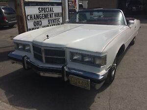 Pontiac Grand ville 1975 convertible