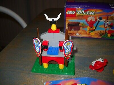 Lego Pirates #6236 King Kahuka Complete with Instructions and Box Nice!
