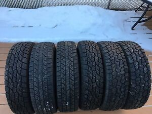 I Have 6 Tires For Sale  LT235/80/R17 Load Range E