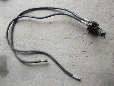 Farmall 400 450 Ih Tractor Rear Hydraulic Line Hoses Bracket Plugs Chain Connect