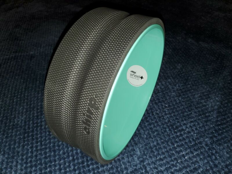 """NEW Chirp Wheel+ LARGE GENTLE Stretch 12"""" Inch Yoga Spine Back Pain Relief"""