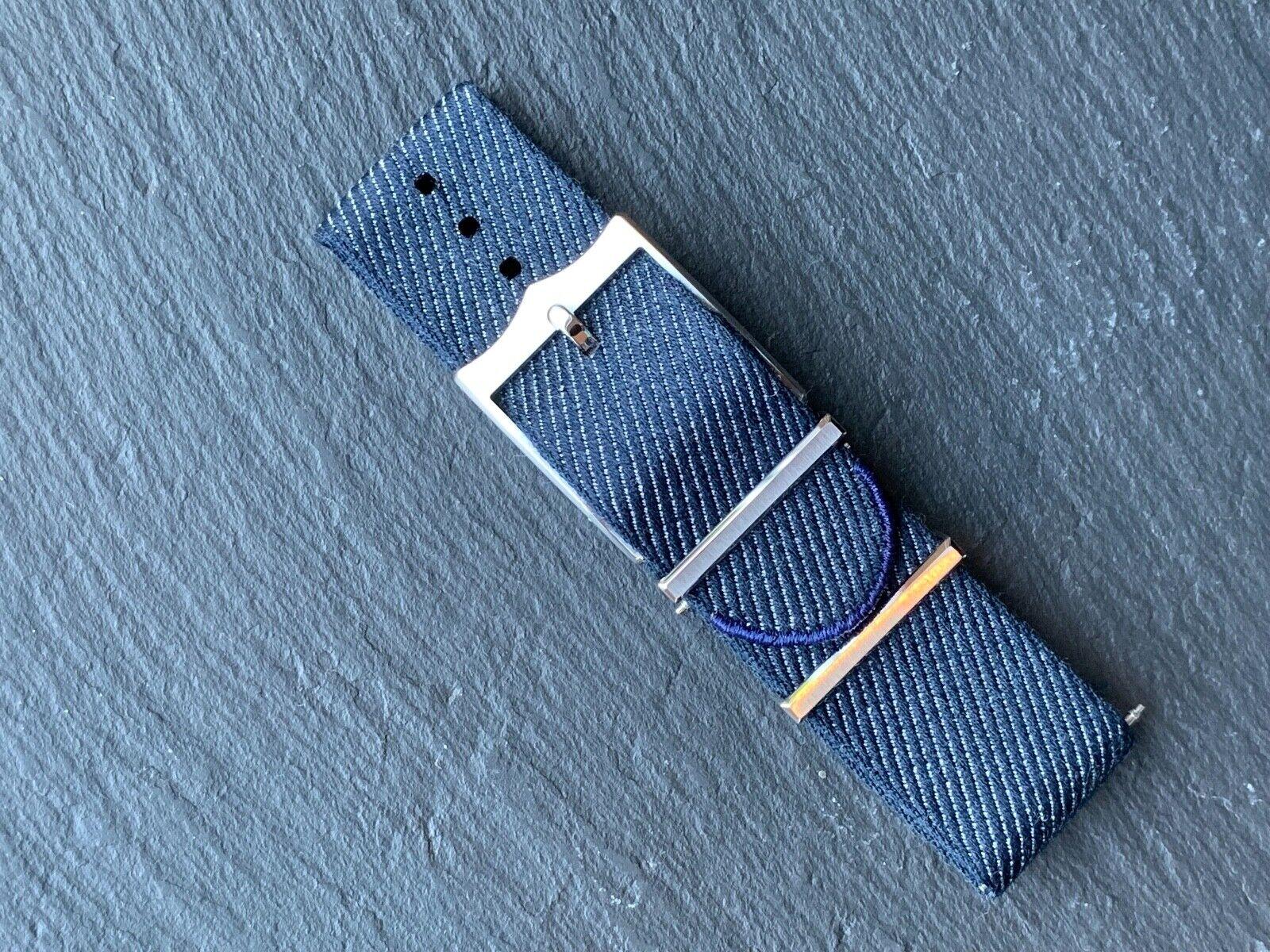 Tudor Heritage Natoband Tiss Bleu Marin/ M STD 4347417 ORIGINAL 22mm
