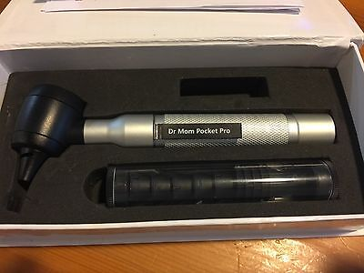 4th Generation Dr. Mom Led Pocket Pro Otoscope In Foam Lined Case