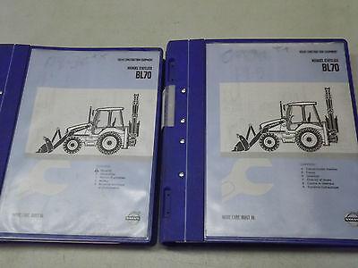 Volvo Bl70 Backhoe Loader Shop Manual French Manuel Datelier 2005 D4d D5d
