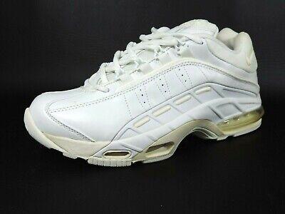 Nike Mens Shoes Air Bokul Max Training Leather White Rare Vintage 379048 105