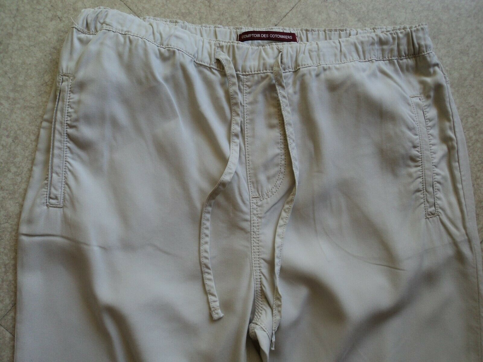 Pantalon chino  fluide comptoir des cotonniers taille 36