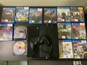 Playstation 4 (PS4) 500GB   Controller   14 games