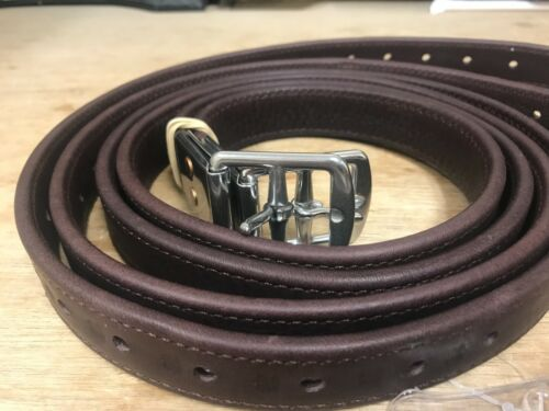 """Beval Stirrup Leathers 54"""" Chocolate - NEW - SALE $99.99"""