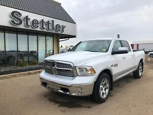 2017 Ram 1500 Laramie BENCH SEAT! LEATHER SEATS! REMOTE START!