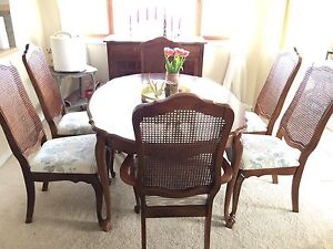 10 piece French Provincial Dinette