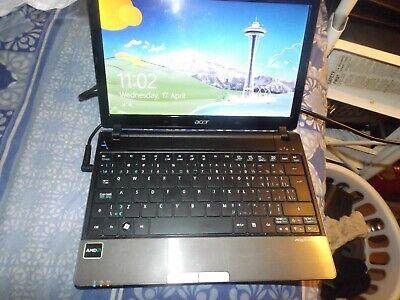 "Acer Aspire One 721 11.6"" AMD Athlon 2GB RAM Laptop Computer (QI40)"