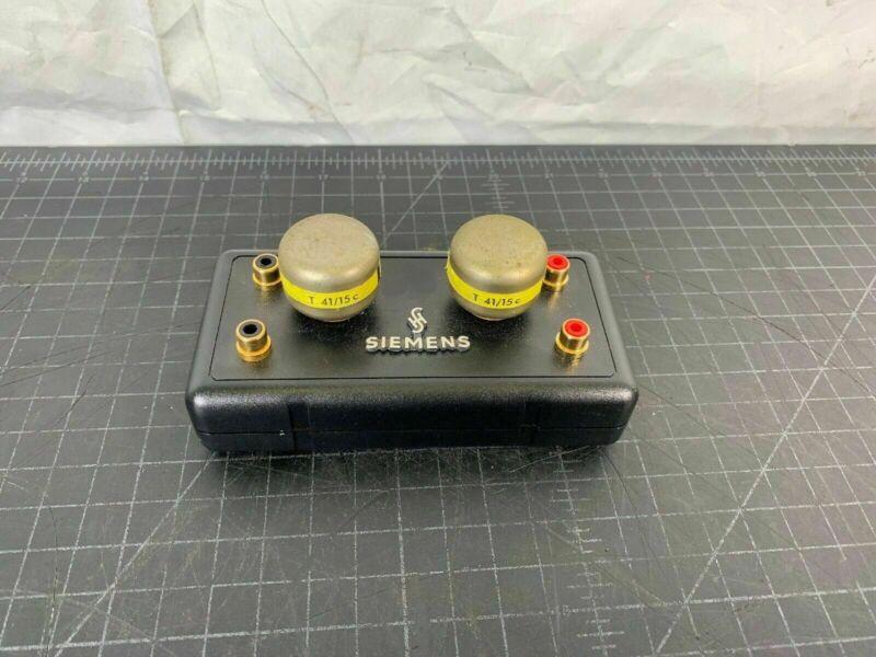 2x SIEMENS Klangfilm  T41 / 15c   vintage input transformers - T41/15c
