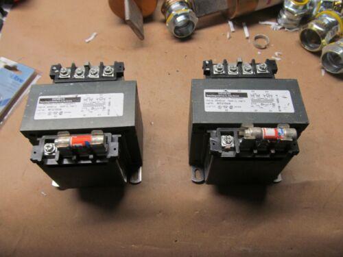 2- NEW SIEMENS 150VA CONTROL TRANSFORMERS 240/460/120   B-63