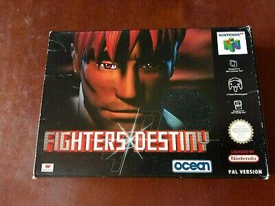 Fighters Destiny gig CIB ITALIANO very rare Pal ita NINTENDO n64 Good NES SNES