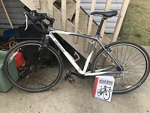 Specialized Tricross road bike and maintenance book