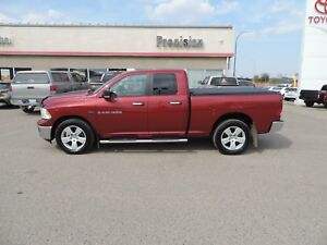 2012 RAM 1500 SLT Tonneau Cover,Running Boards,Bluetooth,Powe...