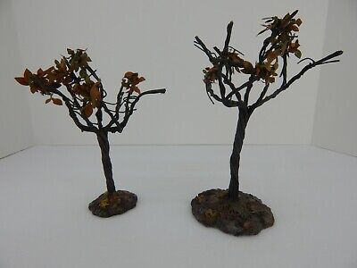 Scary Halloween Trees (Dept 56 Halloween Scary Twisted Trees #53131 Old Store Stock Never Displayed)