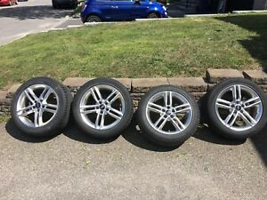"Audi A4 OEM Wheels Mags Roues 17"" with Nokian Winter Tires Hiver"