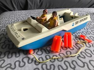 Jouer Vintage Sea Explorer de Fisher Price 1976
